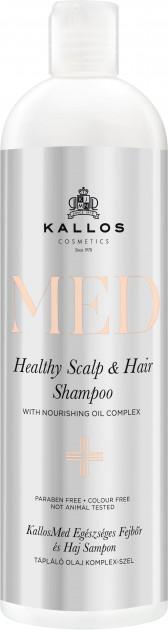 Купить Шампунь для волос KALLOS MED HEALTHY SCALP AND HAIR SHAMPOO Питательный 500 мл, Kallos Cosmetics