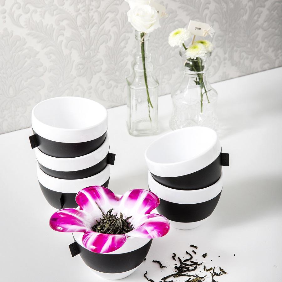Чашка для капучино AROMA, 100 мл, розовая
