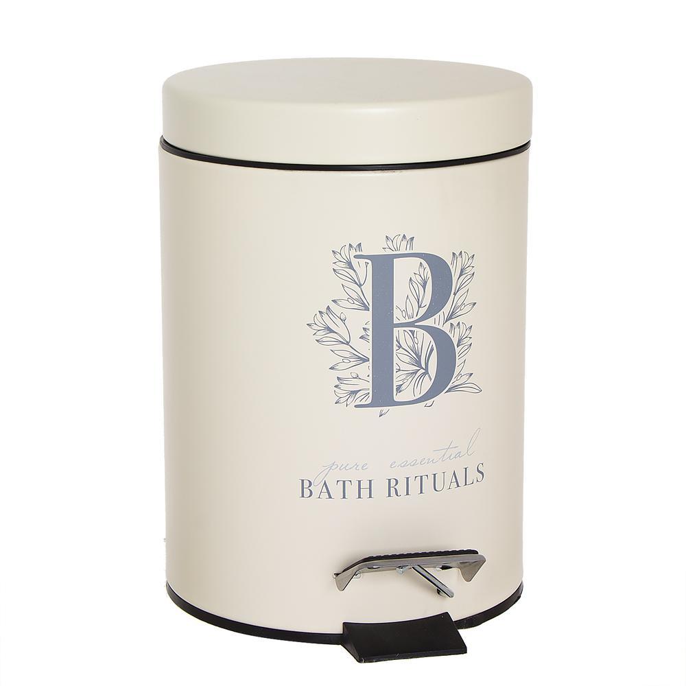 Ведро для мусора Bath Rituals с педалью 3л Dcasa.