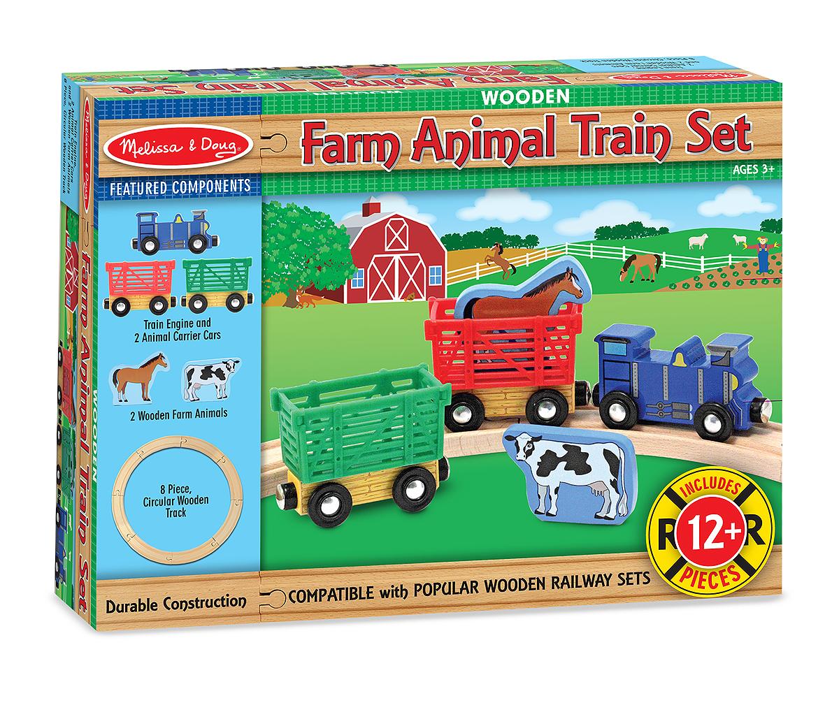 Железная дорога набор Животные с фермы