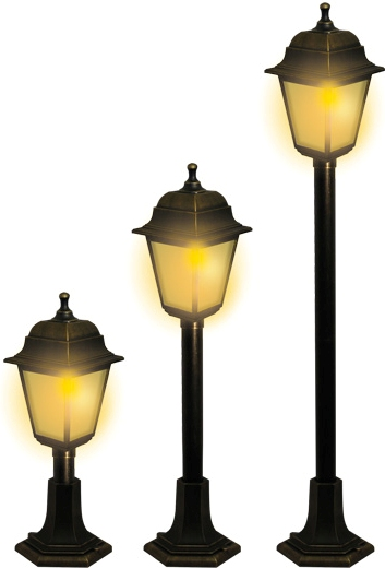 Светильник садово парковый duwi Lester столб