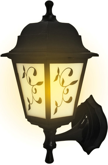 Светильник садово-парковый duwi Lousanne бра вверх/вниз 345мм,60W