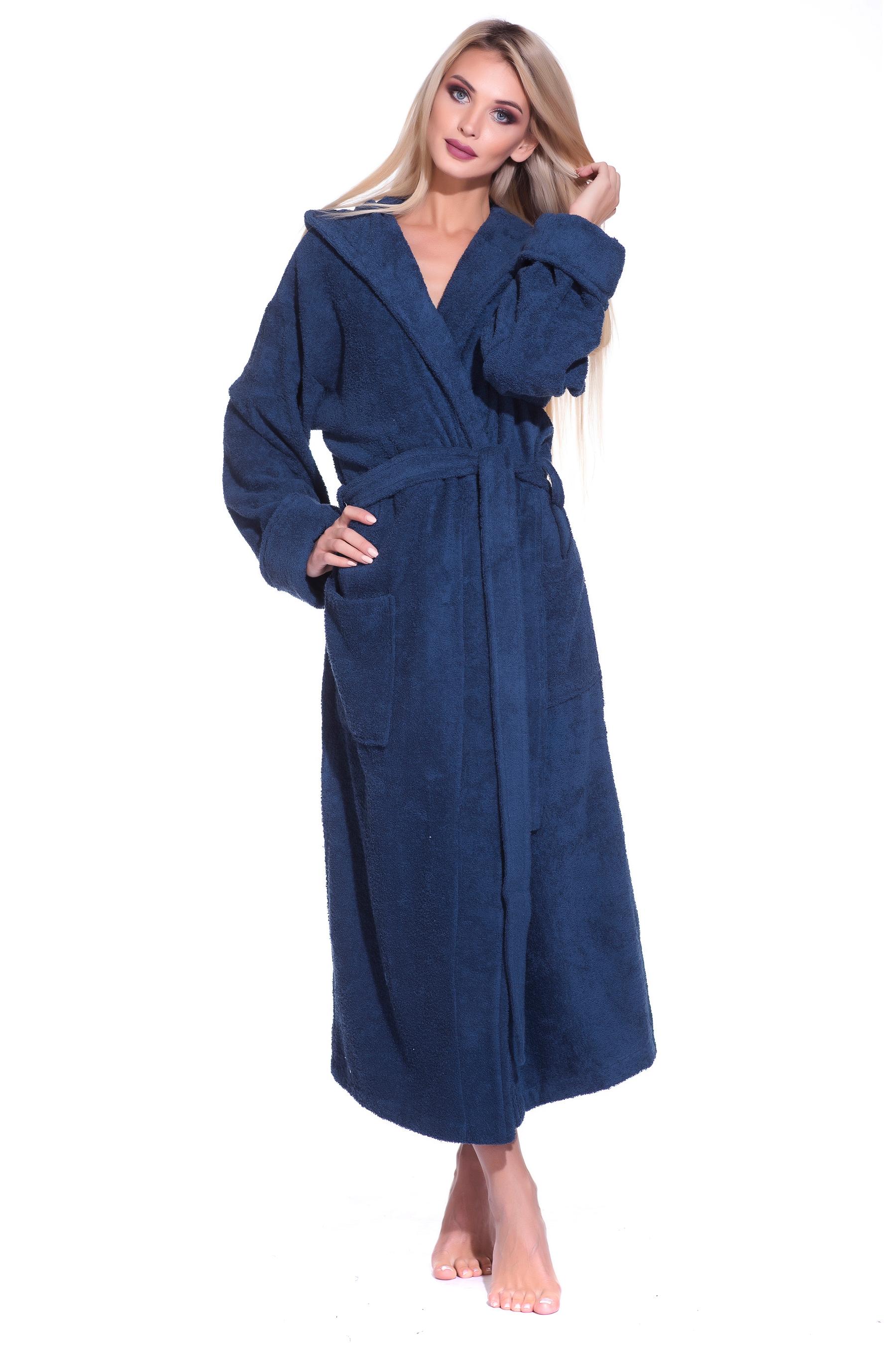 Халат женский Evateks SPORT&Life Woman синий 50-52 SPORT&Life Woman по цене 3 200