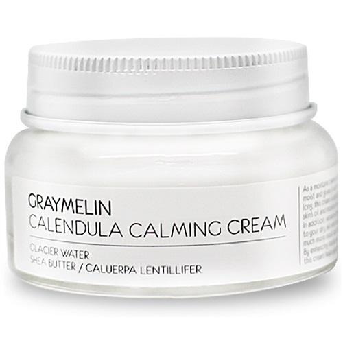 Купить Крем для лица Graymelin Vintage GRAYMELIN Calendula Calming Cream 50 мл, GRAYMELIN Calendula Calming Cream Крем для лица успокаивающий с экстрактом календулы 50 ml