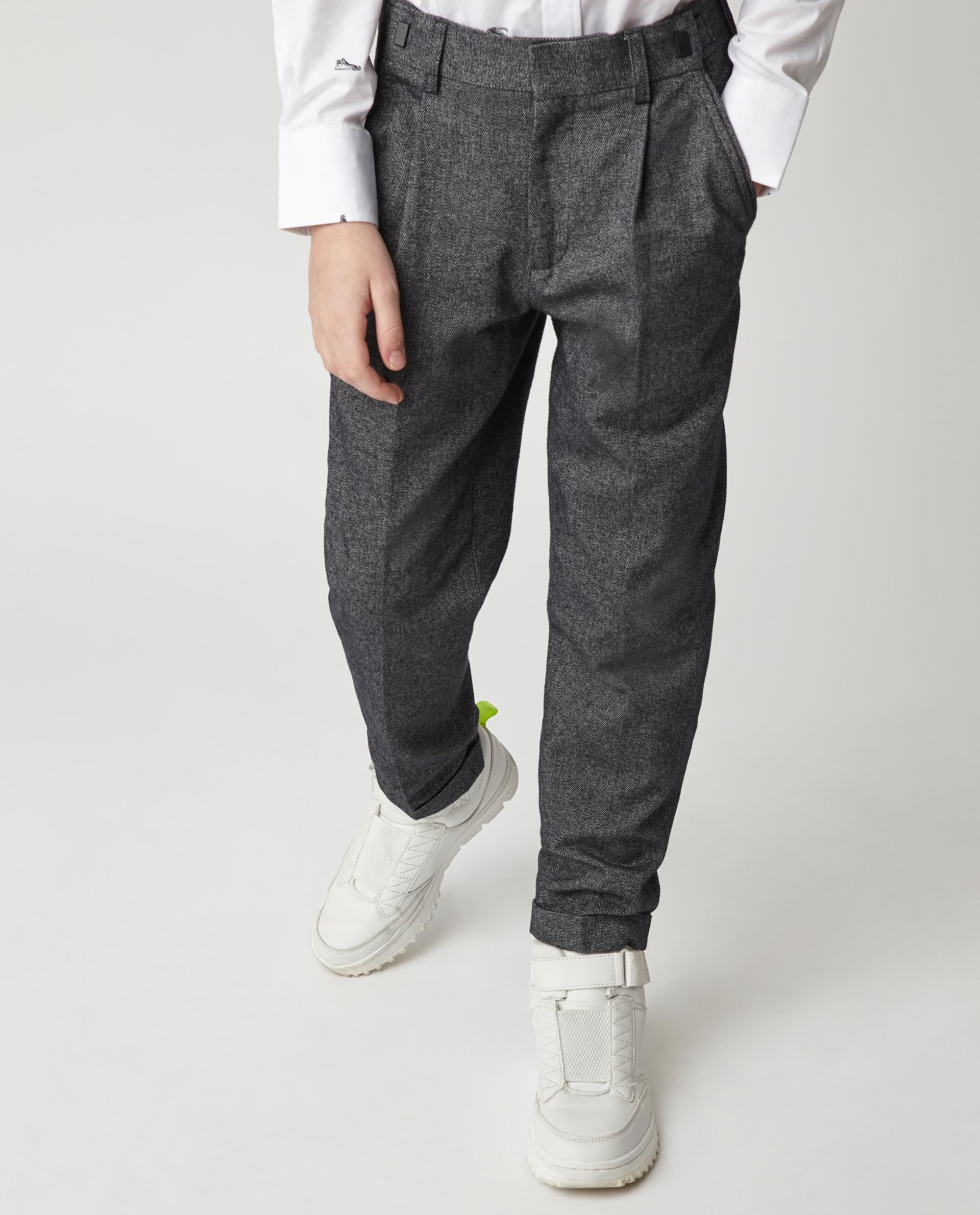 Купить Серые брюки Gulliver 220GSBC6310, размер 170, Брюки для мальчиков