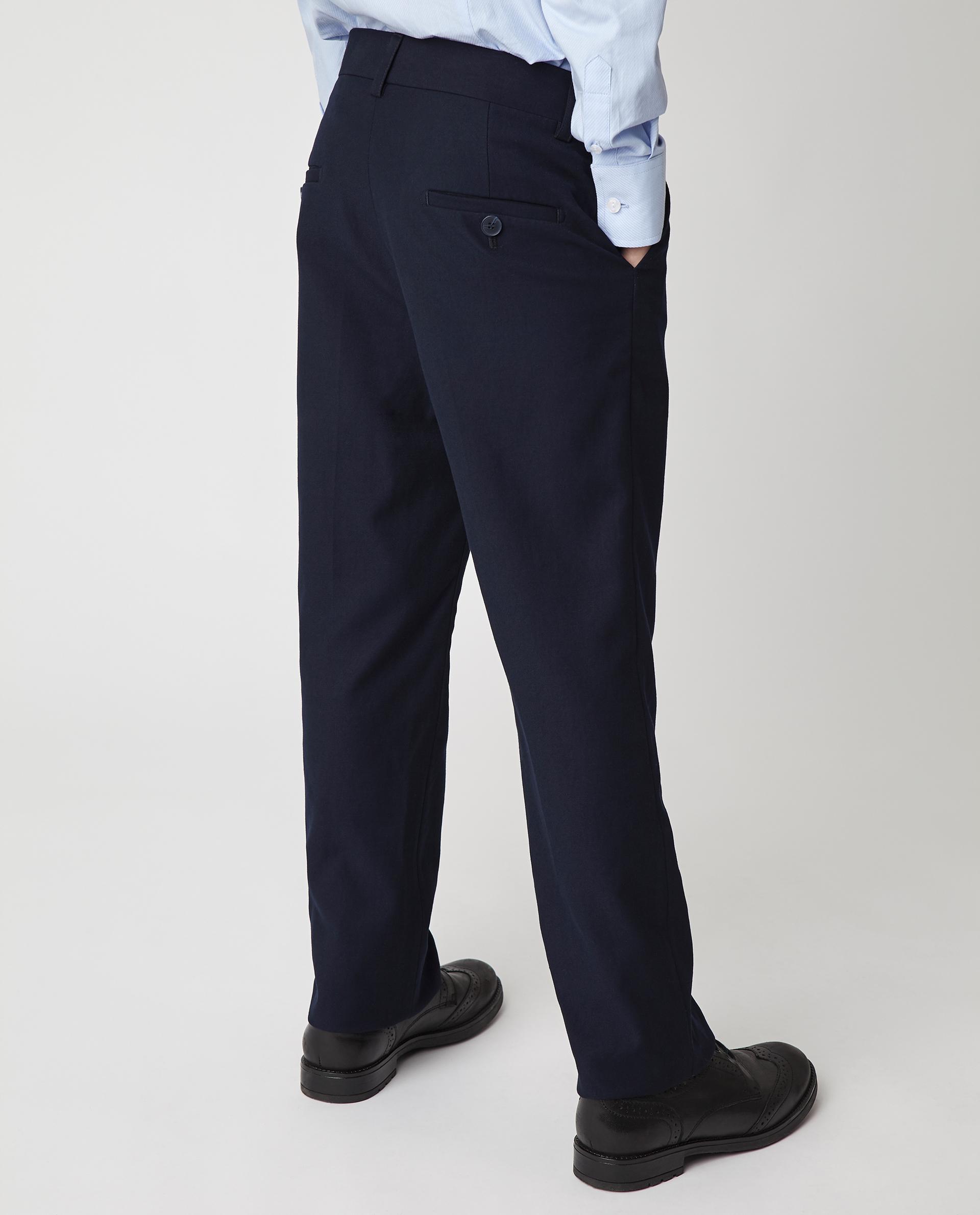 Купить Синие брюки Gulliver 220GSBC6302, размер 170, Брюки для мальчиков