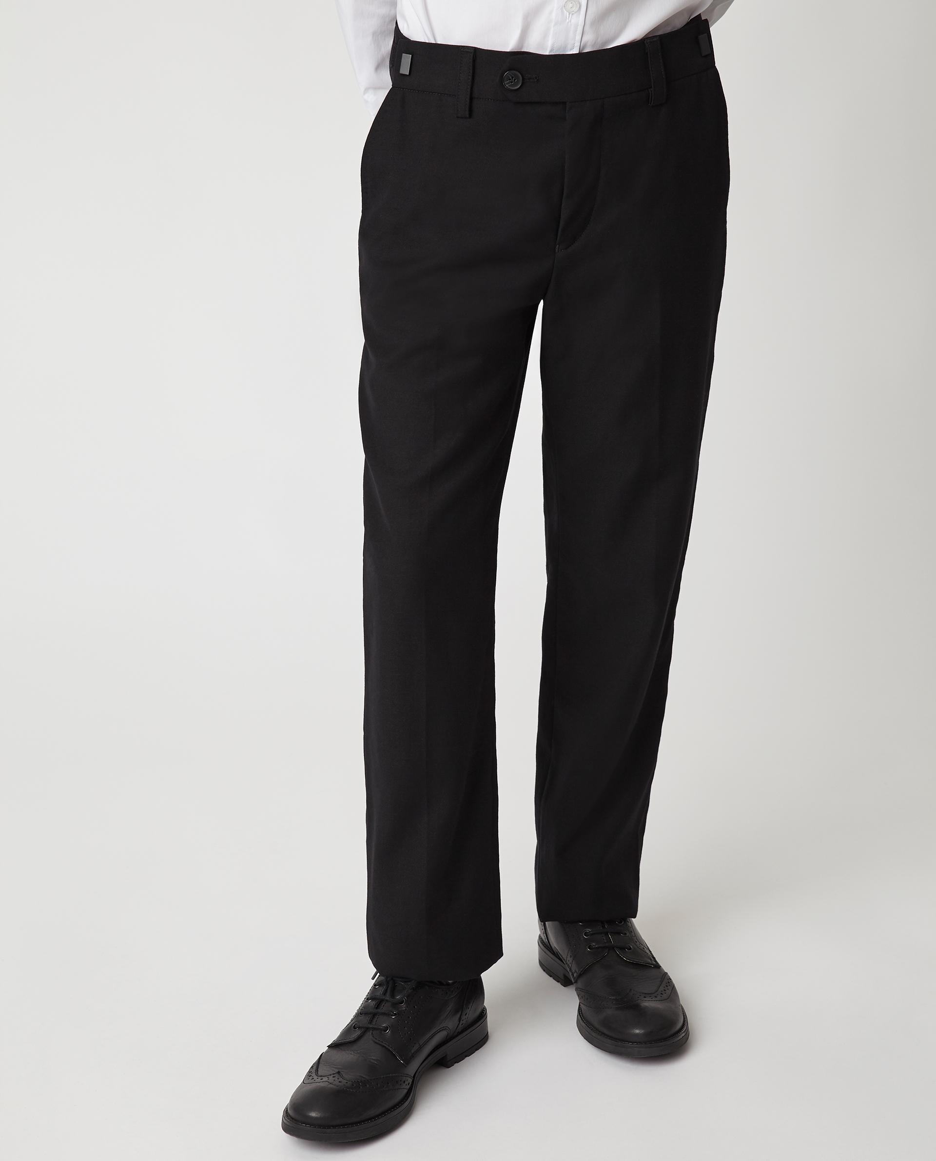 Купить Черные брюки Gulliver 220GSBC6301, размер 170, Брюки для мальчиков