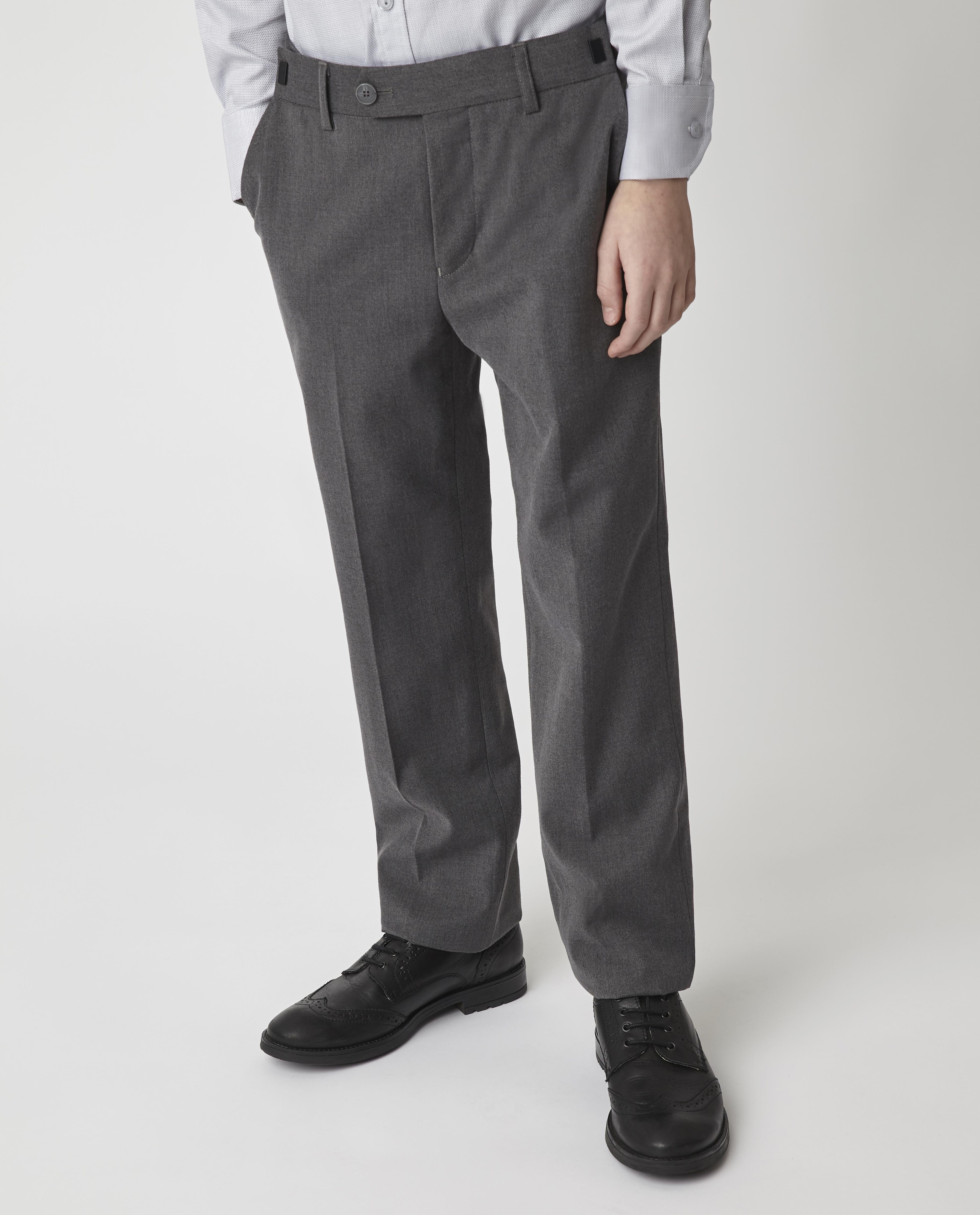 Купить Серые брюки Gulliver 220GSBC6303, размер 170, Брюки для мальчиков