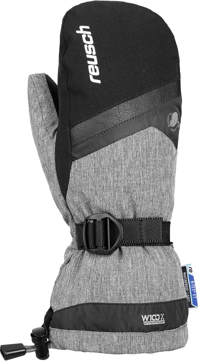 Варежки Reusch 2020-21 Kito R-Tex Xt Mitten Black/Black Melange, р. 17