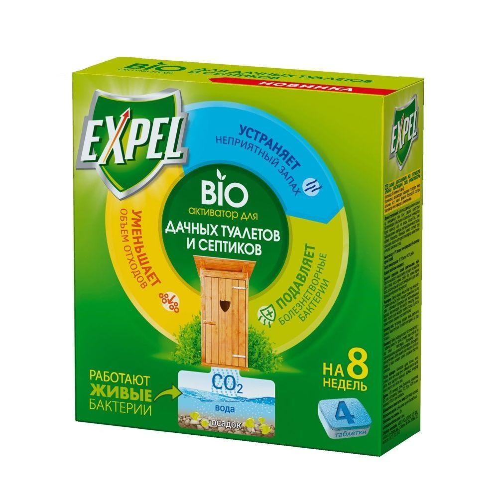 Биоактиватор EXPEL для дачных туалетов и септиков,