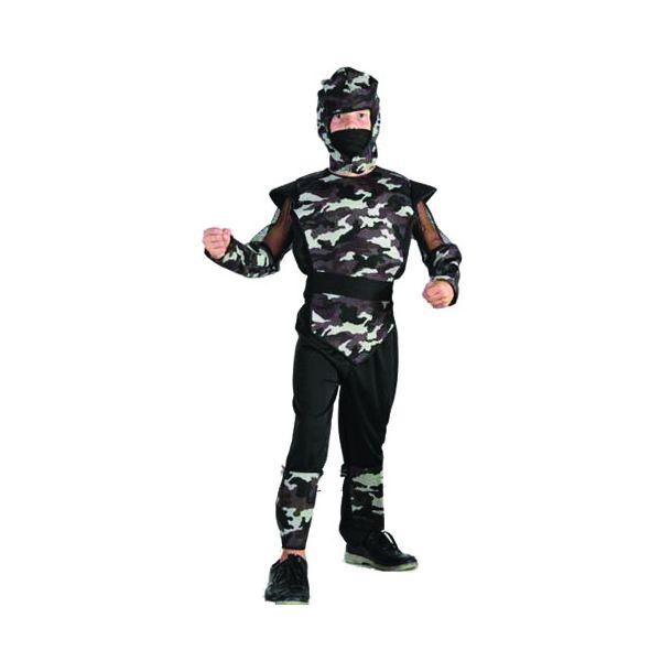 Купить E92149, Карнавальный костюм Snowmen Военный, цв. черный р.134,