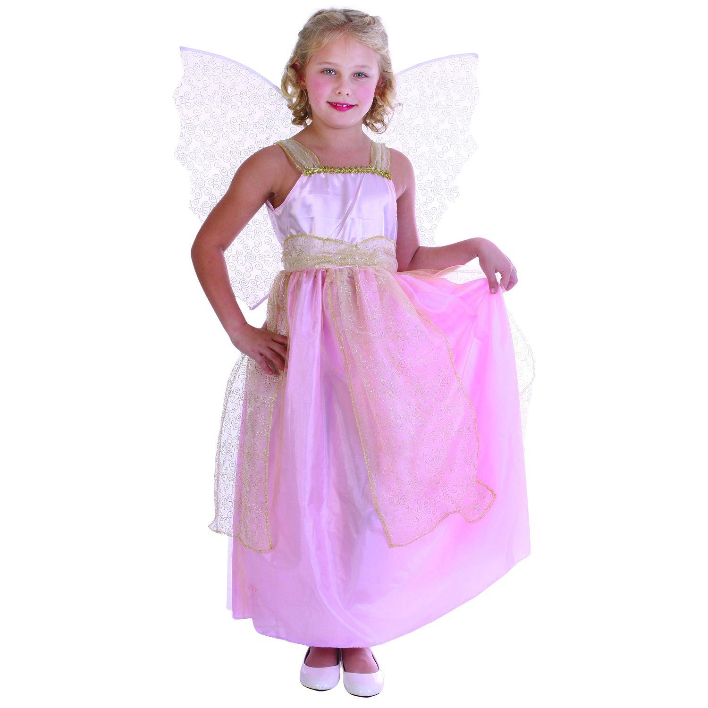 Купить E94755-1, Карнавальный костюм Snowmen Фея, цв. розовый р.134,