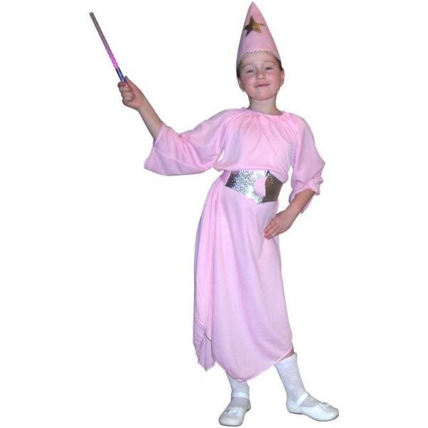 Купить E80743, Карнавальный костюм Snowmen Фея, цв. розовый р.98,