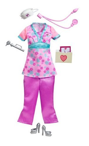 Купить Одежда для куклы Barbie Барби Доктор T7540, Одежда для кукол