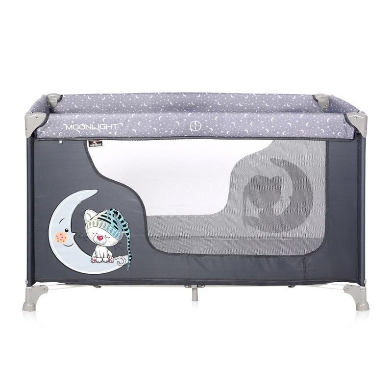 Манеж Lorelli Moonlight 1 Серый/Grey Cute Moon