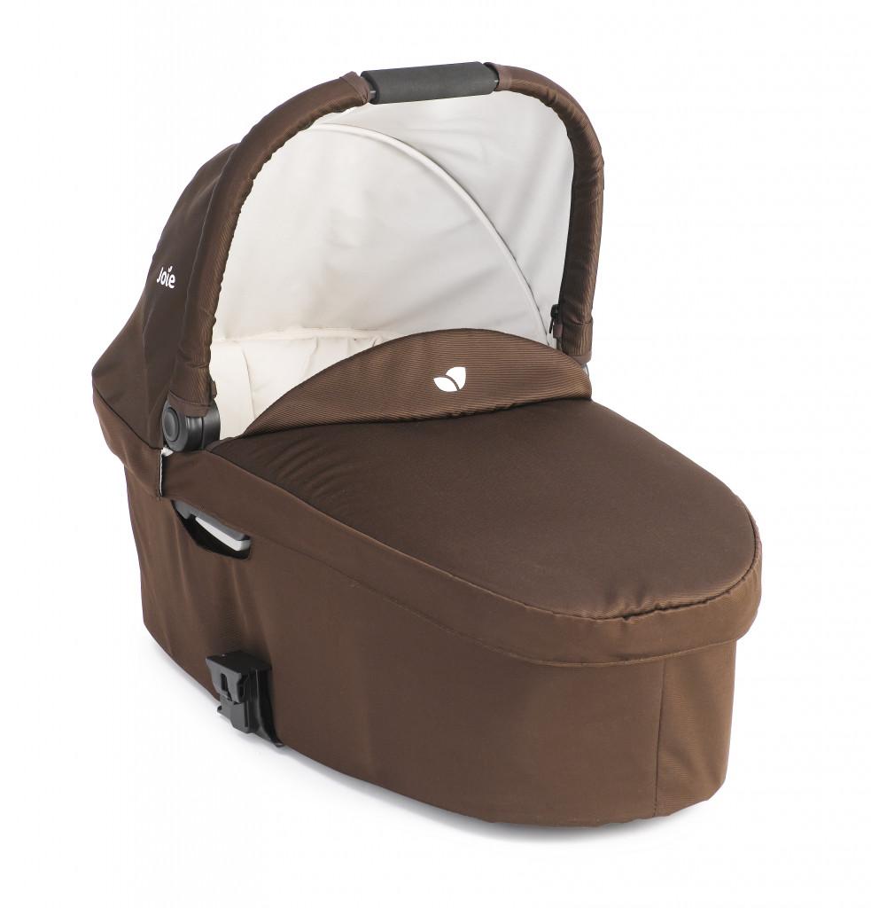 Люлька Joie Chrome Carry cot Dark Brown