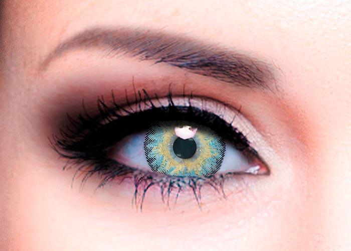 Купить Ophthalmix Butterfly, Цветные контактные линзы Офтальмикс Butterfly 3 Т 2 шт. PWR -1, 50, R 8.6, Light Grey