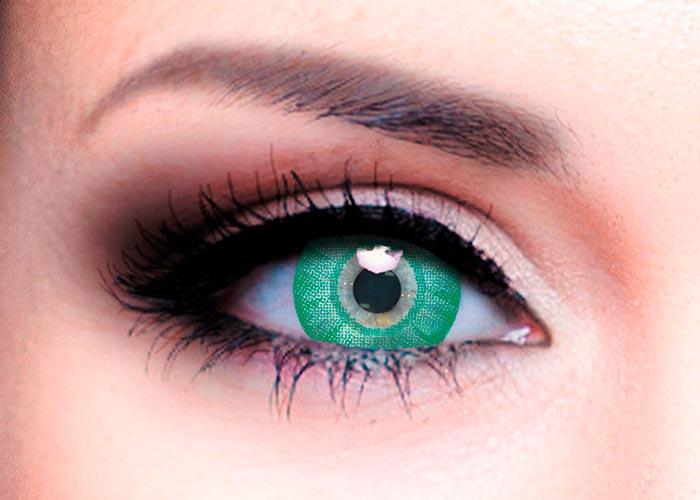 Купить Ophthalmix Butterfly, Цветные контактные линзы Офтальмикс Butterfly 2 шт. PWR -5, 50, R 8.6, Green