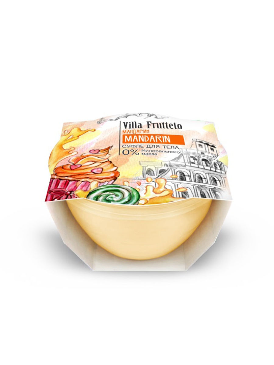 Крем суфле для тела Villa Frutteto