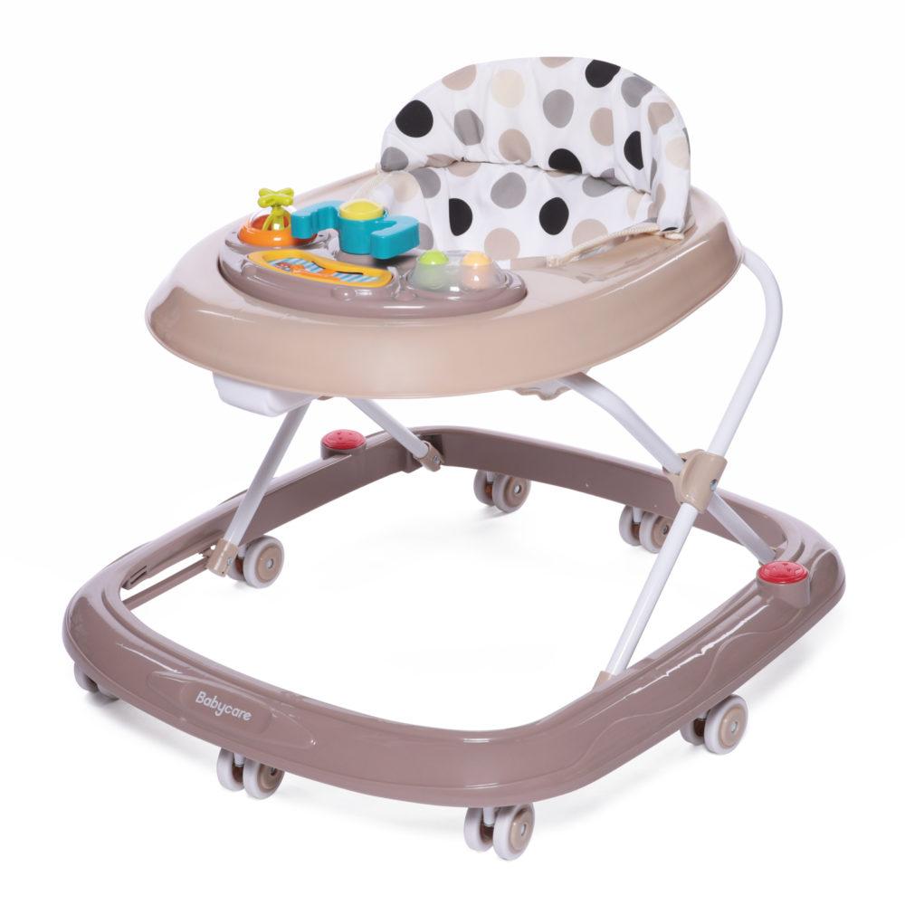 Ходунки Babycare Corsa Beige dots Бежевые точки Baby Care