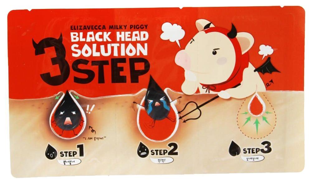 Набор от черных точек Elizavecca Milky Piggy