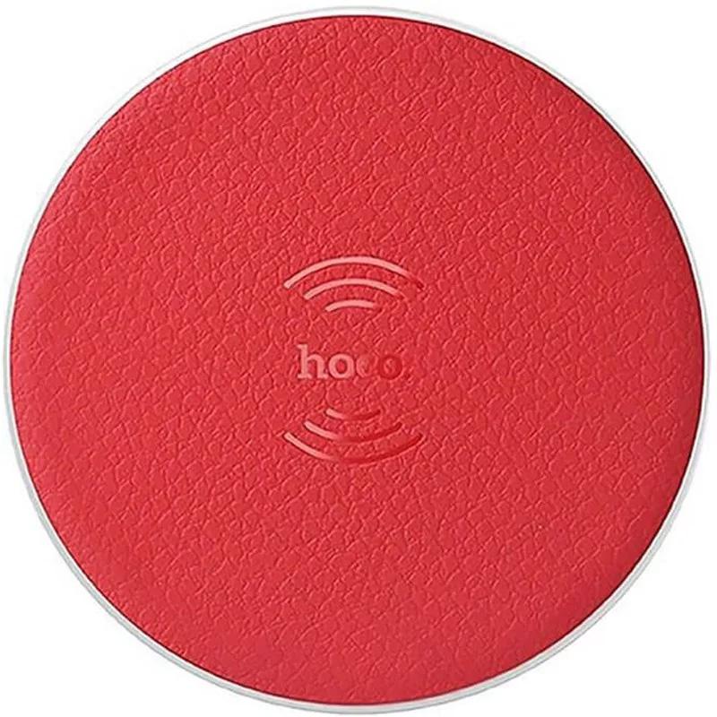 Беспроводное зарядное устройство CW14 Round Red