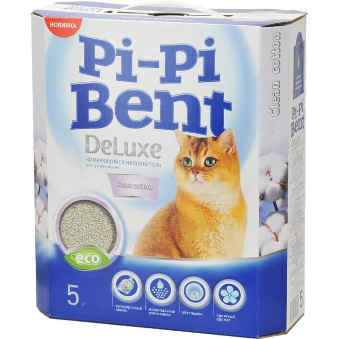 Комкующийся наполнитель для кошек Pi Pi Bent