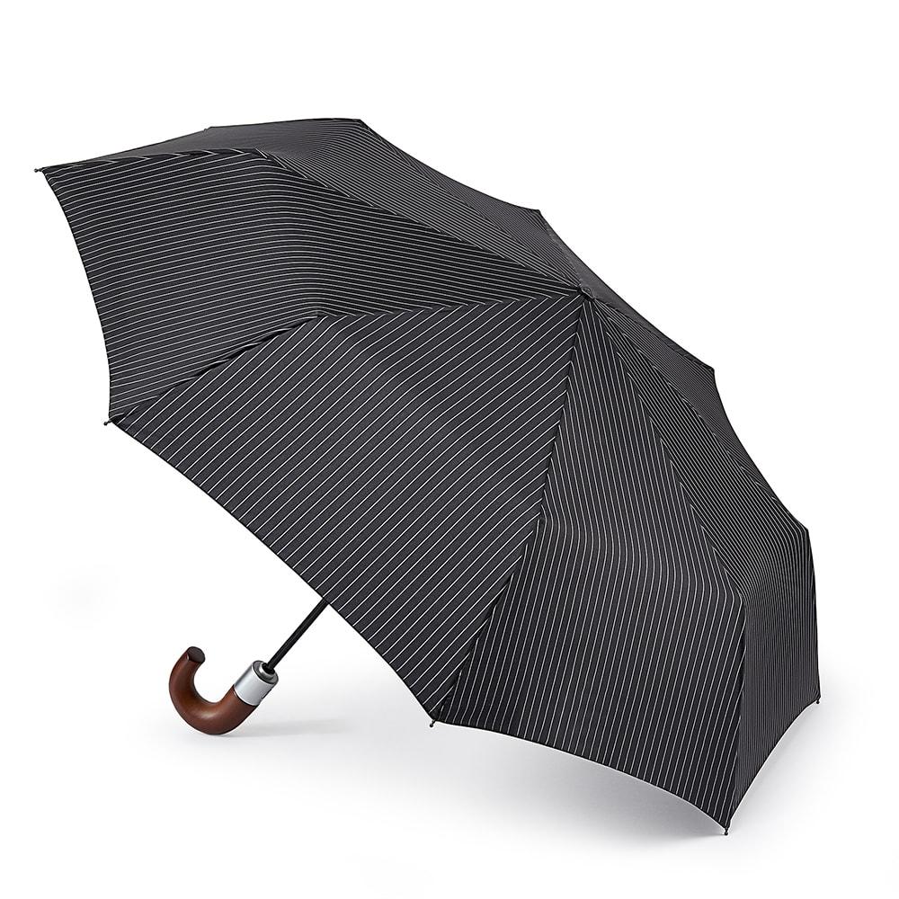 Зонт складной мужской автоматический Fulton G818-2162 черный