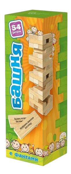 Семейная настольная игра Башня С Заданиями Для Детей Бэмби