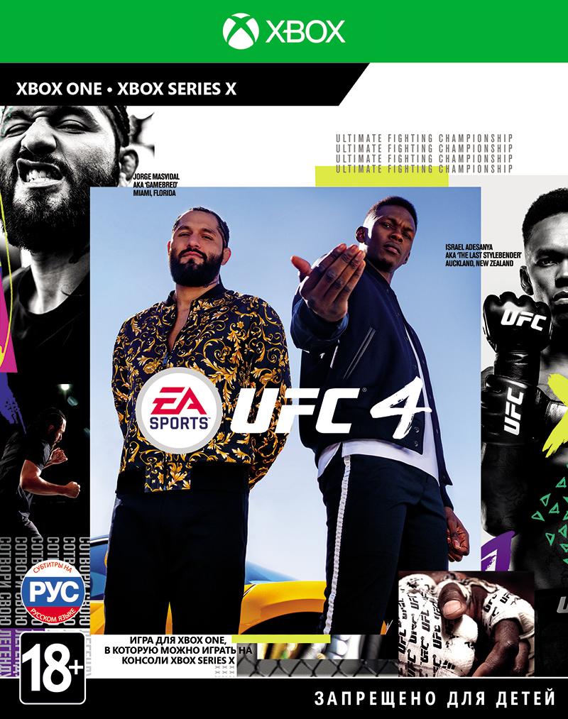 Игра UFC 4 для Xbox One EA