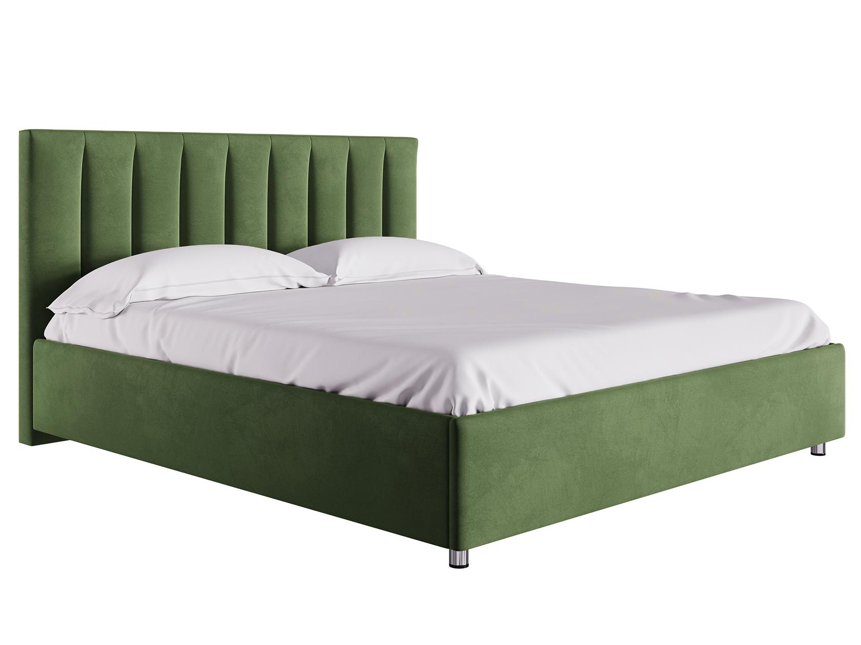Двуспальная кровать с подъемным механизмом Кармэн Зелёный,
