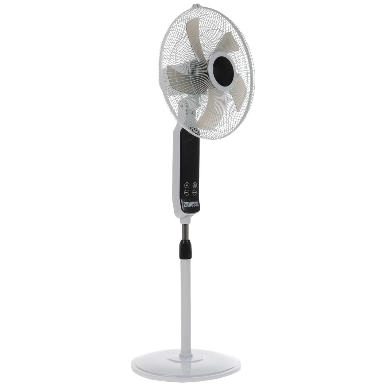 Вентилятор напольный Zanussi ZF 901 white/black