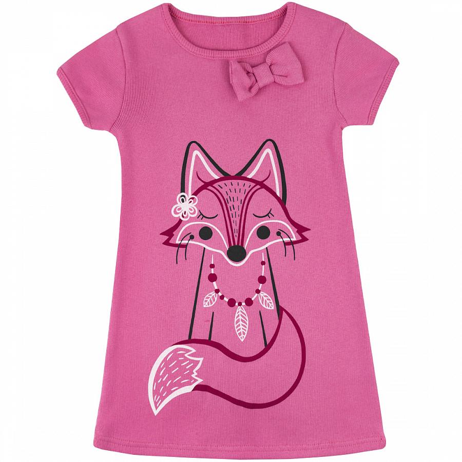 Купить 377/2к ап, Платье детское Юлла, цв. розовый р. 110, Платья для девочек