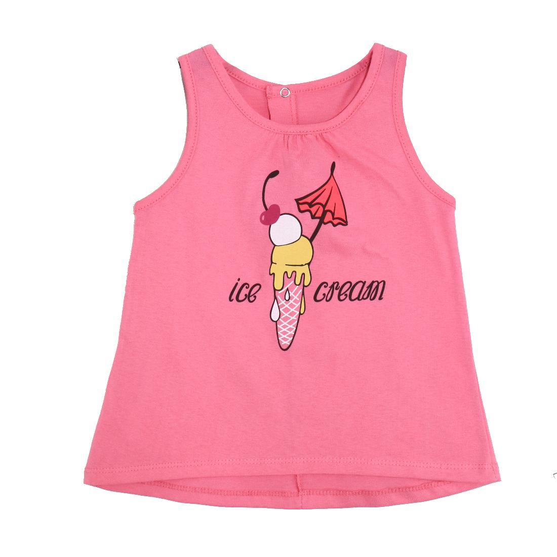 Купить 723к ап, Майка детская Юлла, цв. розовый р. 80, Детские футболки