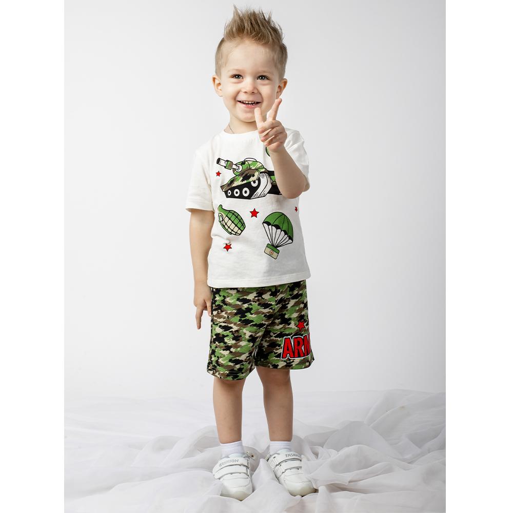 Купить 613фд ап, Шорты детские Юлла, цв. зеленый р. 92, Шорты и брюки для новорожденных