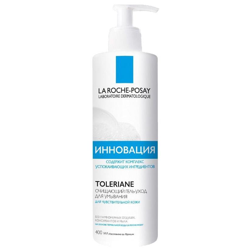 Очищающий гель-уход для умывания La Roche-Posay Toleriane Caring Wash 400 мл фото
