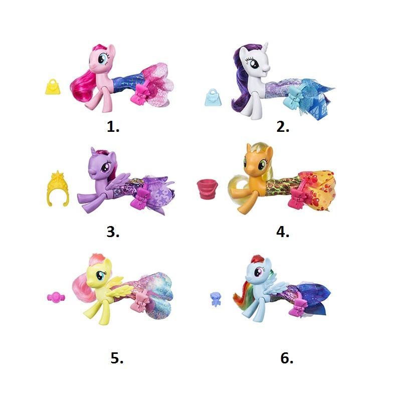 Фигурка My little Pony My Little Pony Мерцание. Пони в волшебных платьях в ассортименте фото