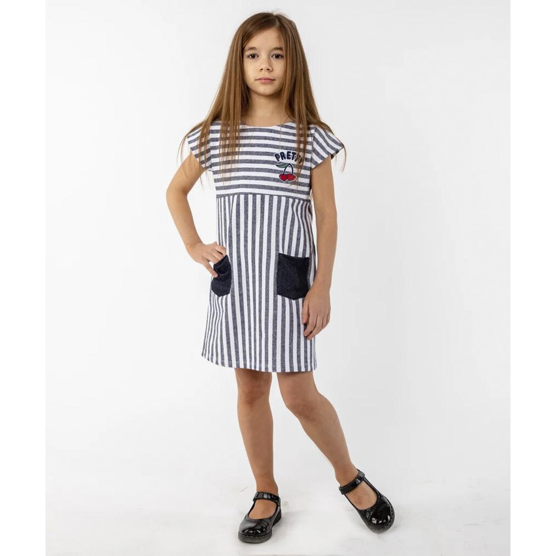 Купить 1028фд ап, Платье детское Юлла, цв. черный р. 104, Платья для девочек