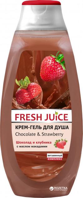 Крем гель для душа Fresh Juice Chocolate