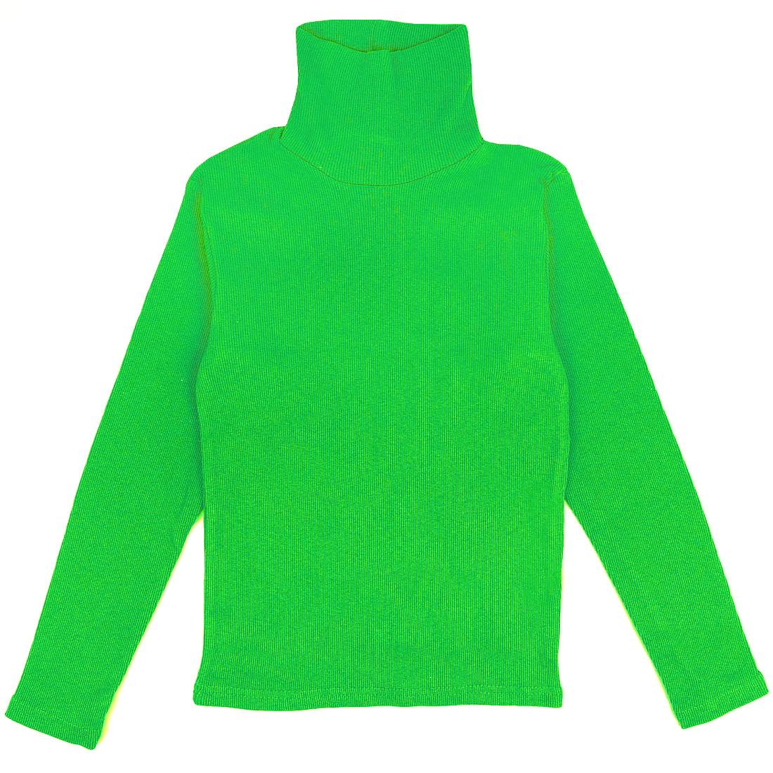 Купить 079кут, Водолазка детская Юлла, цв. зеленый р. 134, Водолазки для мальчиков