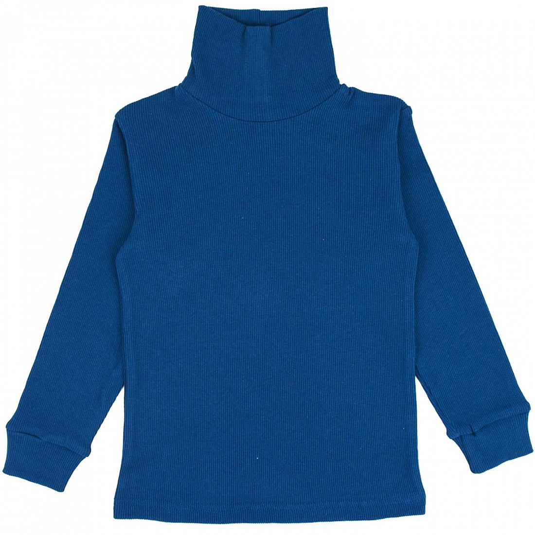 Купить 063К, Водолазка детская Юлла, цв. синий р. 134, Водолазки для мальчиков
