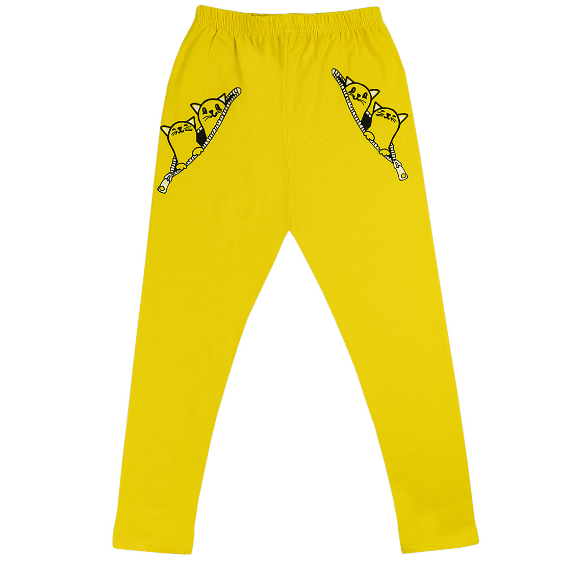 Купить 129к/л ап, Леггинсы детские Юлла, цв. желтый р. 92, Шорты и брюки для новорожденных