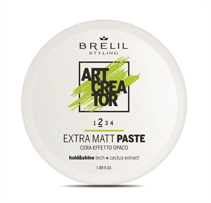 Купить Паста для укладки волос Brelil professional ART CREATOR с экстраматовым эффектом 50 мл