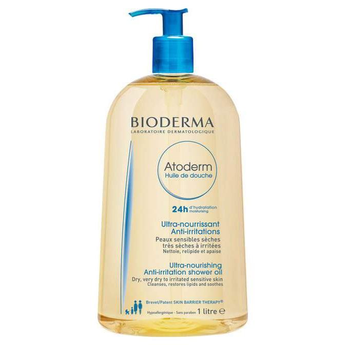 Масло для душа Bioderma Atoderm Shower Oil