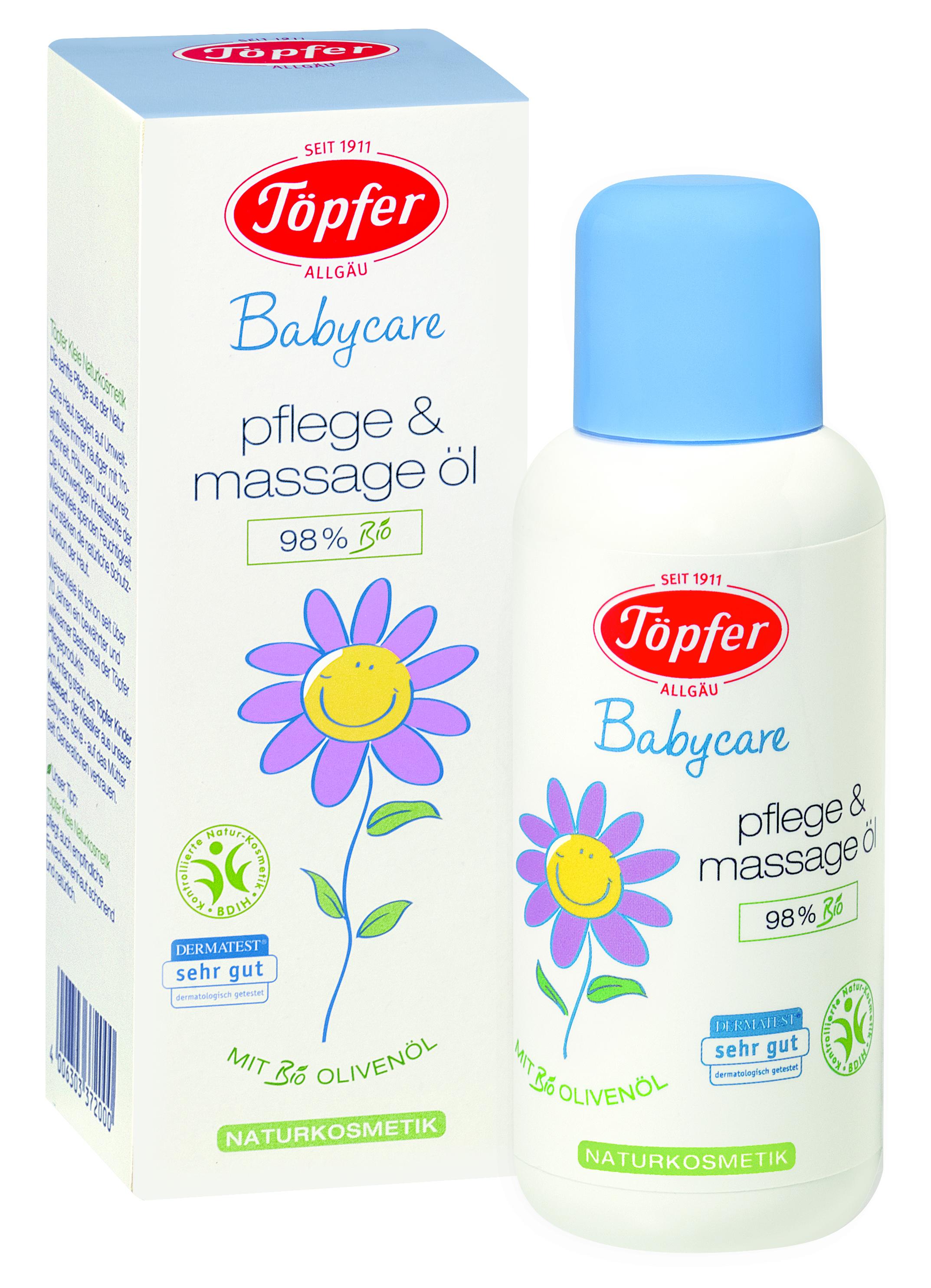 Масло для тела детское Topfer По уходу за кожей 100 мл фото