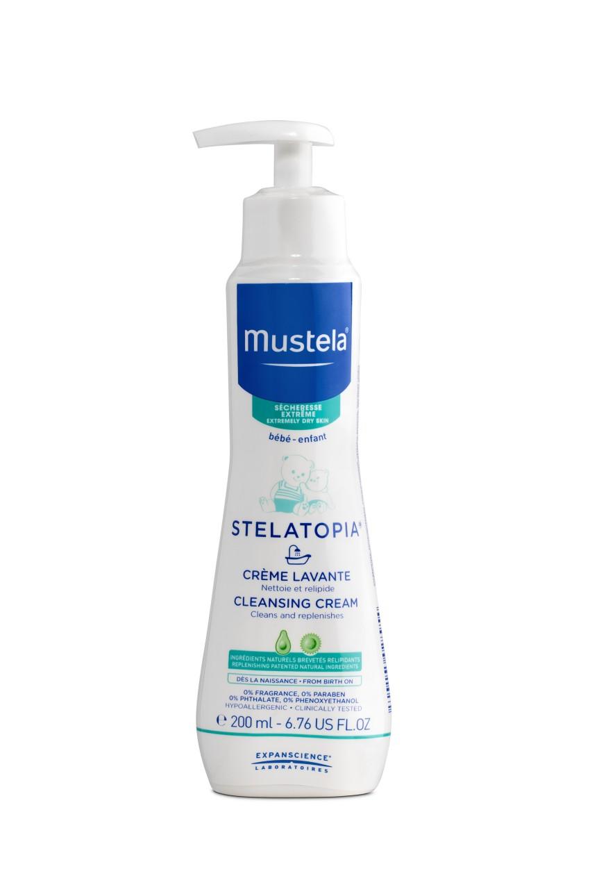 Купить Гель для купания детский MUSTELA Stelatopia Dermo-Pediatrics 200 мл,