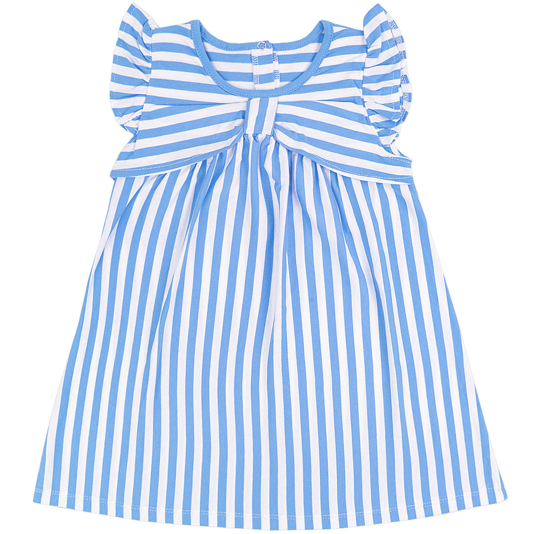 Купить 939/2к, Платье детское Юлла, цв. синий р. 92, Платья для новорожденных