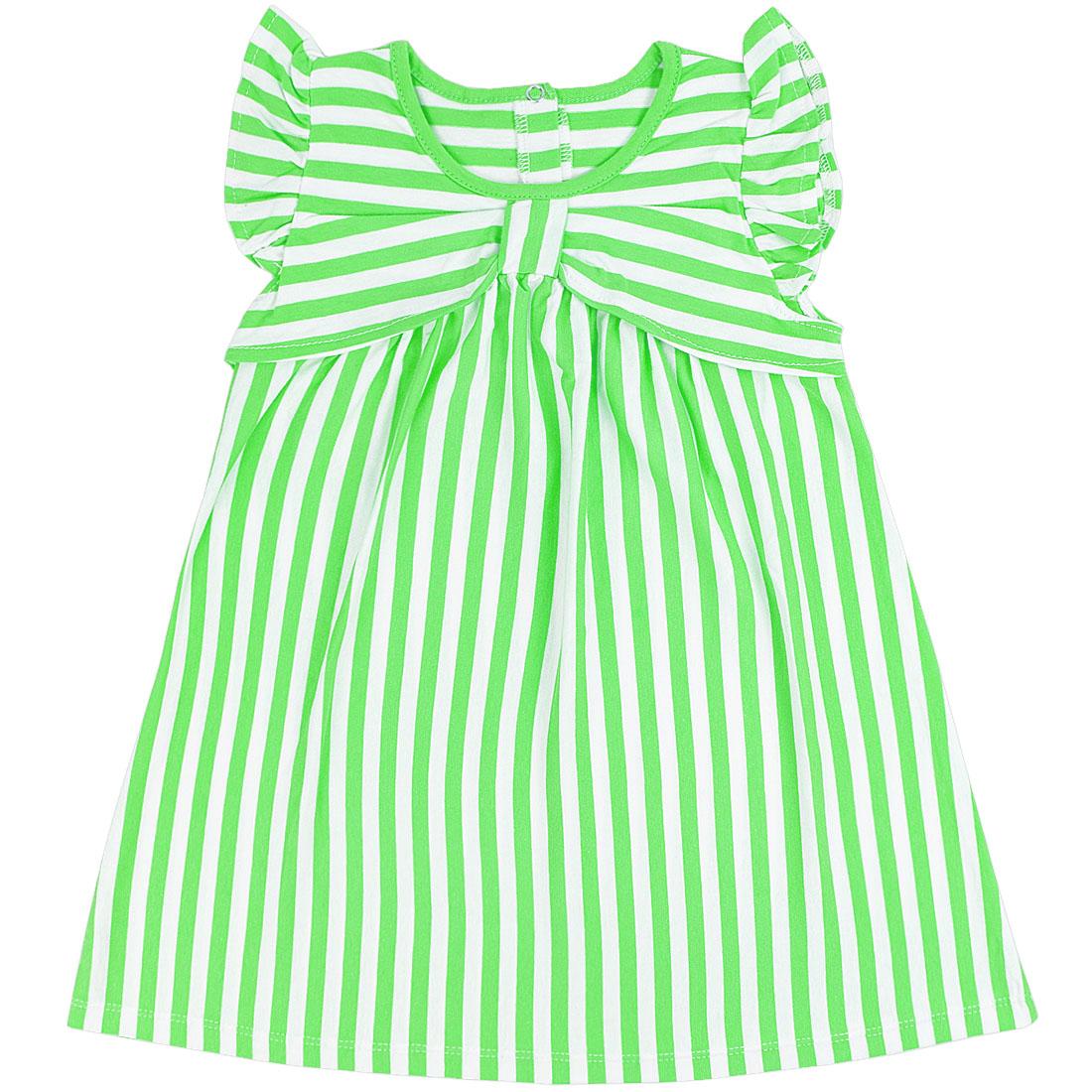 Купить 939/2к, Платье детское Юлла, цв. зеленый р. 74, Платья для новорожденных