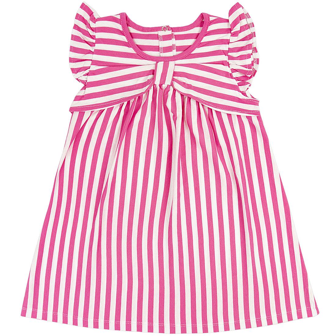 Купить 939/2к, Платье детское Юлла, цв. розовый р. 74, Платья для новорожденных