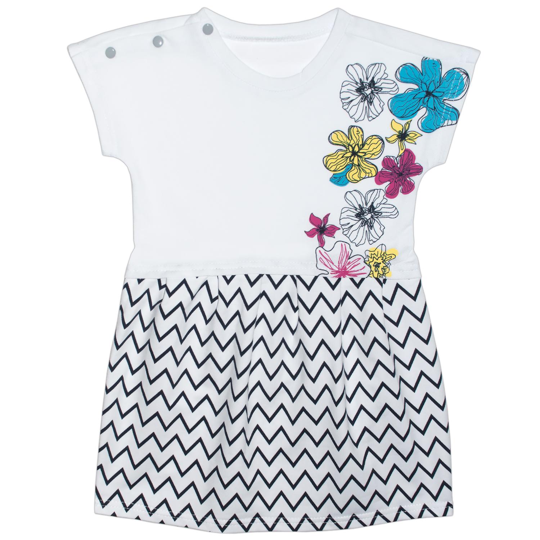 Купить 438фд/п ап, Платье детское Юлла, цв. белый р. 92, Платья для новорожденных